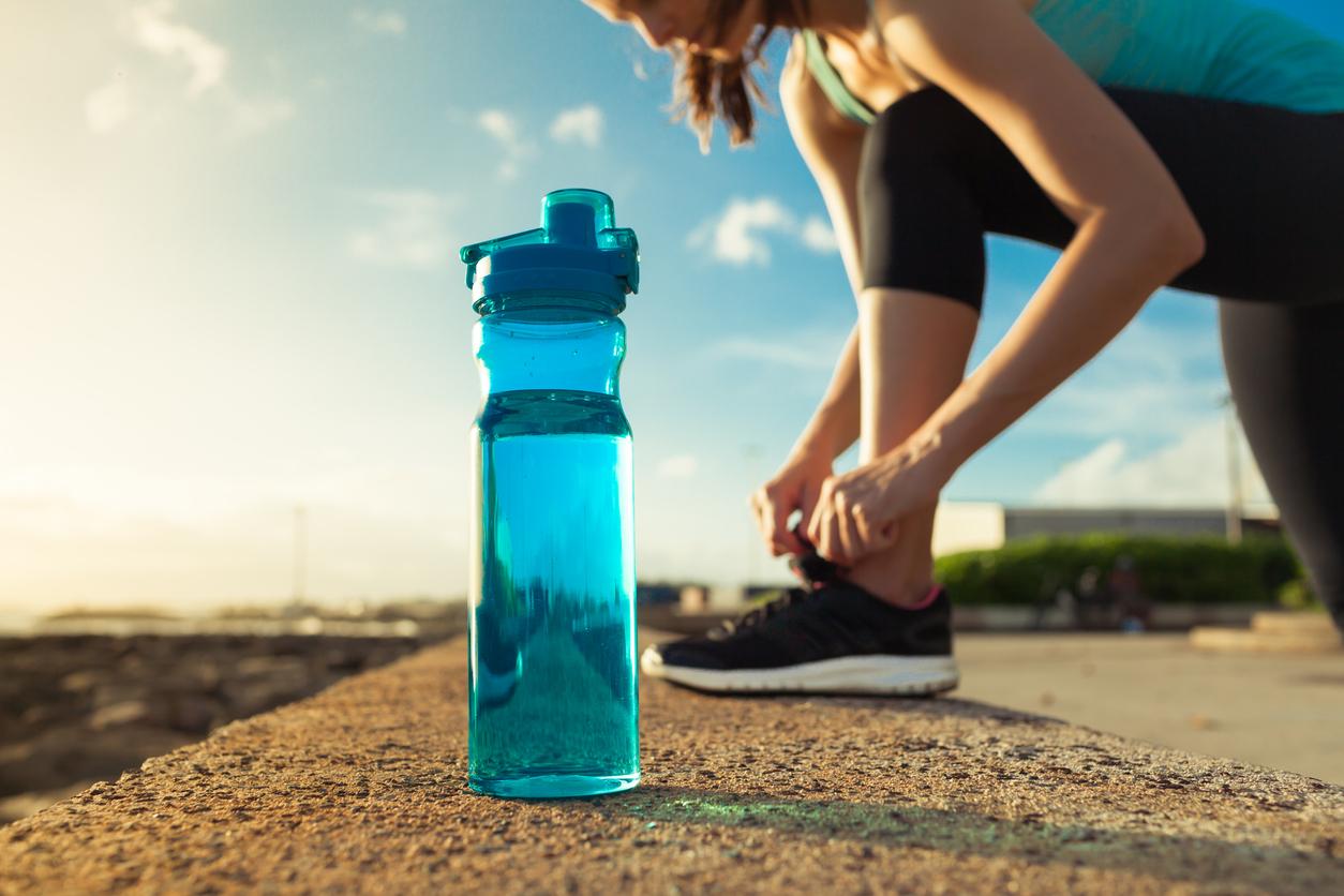 Trinken während dem Laufen?