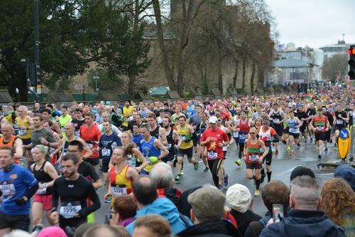 Marathon: die härteste Art des Laufens